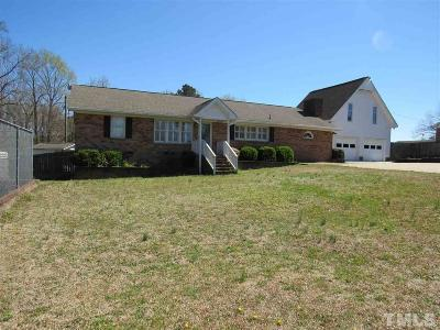 Clayton Single Family Home For Sale: 5218 Barber Mill Road