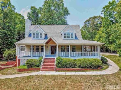 Wake Forest Single Family Home For Sale: 5016 Upchurch Lane