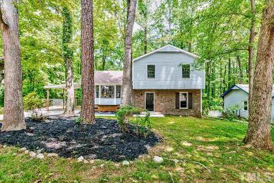 Cary Single Family Home Pending: 611 Webster Street