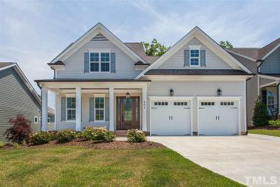 Holly Springs Single Family Home Pending: 201 Fairway Vista Drive