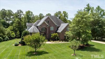 Johnston County Single Family Home For Sale: 33 Plaza De Luke Square