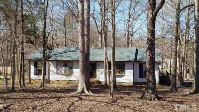 Durham Single Family Home For Sale: 1602 Goodwin Road