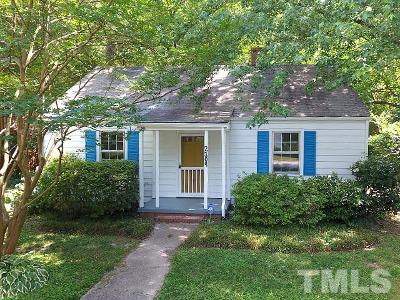 Single Family Home For Sale: 2109 Sunset Avenue