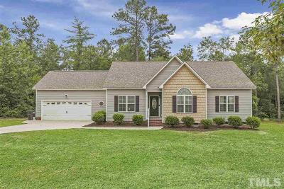 Angier Single Family Home For Sale: 224 Oxford Woods Drive