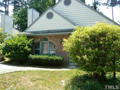 Cary Single Family Home Contingent: 111 Sterlingdaire Drive