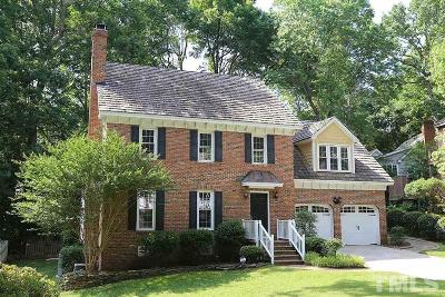 Raleigh Single Family Home Contingent: 2105 Petworth Court