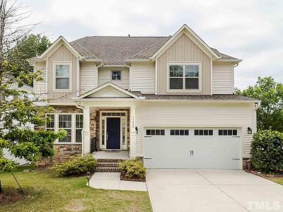 Cary Single Family Home Contingent: 1128 Rosepine Drive
