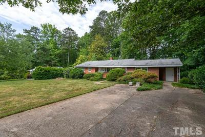 Cary Single Family Home Pending: 614 Union Street