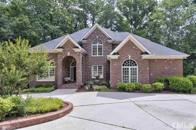 Holly Springs Single Family Home For Sale: 4901 Devils Ridge Court