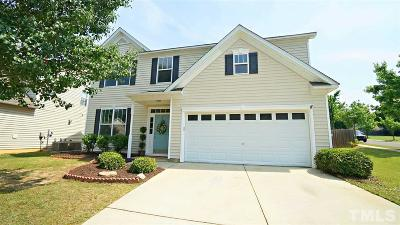 Holly Springs Single Family Home Contingent: 433 Stobhill Lane