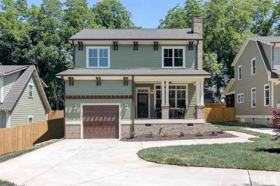 Durham Single Family Home Contingent: 825 Glendale Avenue