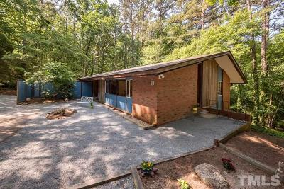 Chapel Hill Single Family Home Contingent: 311 Clayton Road