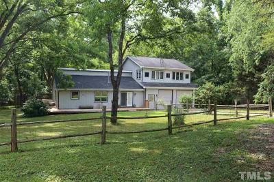 Chatham County Single Family Home For Sale: 1200 Old Graham Road