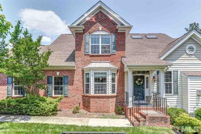 Raleigh Townhouse For Sale: 11510 Helmond Way