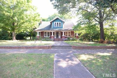 Benson Single Family Home For Sale: 208 W Church Street