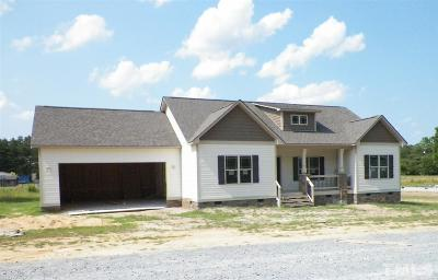 Benson Single Family Home Contingent: 5742 Old Fairground Road #Lot 2