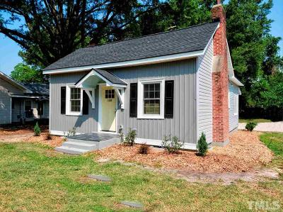 Zebulon Single Family Home Contingent: 108 W Sycamore Street