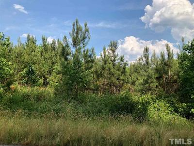 Granville County Residential Lots & Land For Sale: 4502 Hight Road