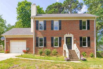 Apex Single Family Home Contingent: 105 Pinewood Drive
