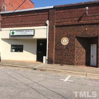 Granville County Commercial For Sale: 107 Littlejohn Street
