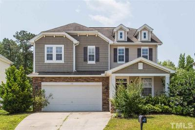 Garner Single Family Home Contingent: 142 Coalyard Drive