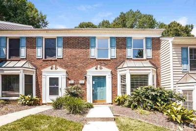 Cary Townhouse For Sale: 292 Beechtree Drive