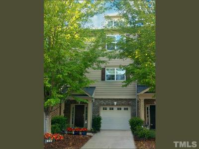 Apex Townhouse For Sale: 206 Presenteer Trail