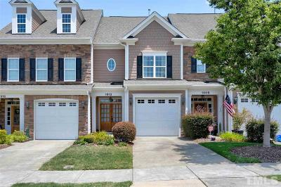 Morrisville Townhouse For Sale: 1012 Checkerberry Drive