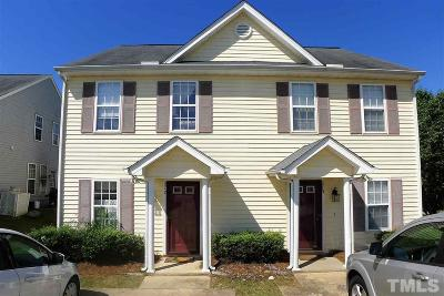 Johnston County Townhouse Contingent: 217 Payton Drive