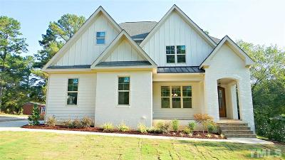 Raleigh Single Family Home For Sale: 14010 Durant Road