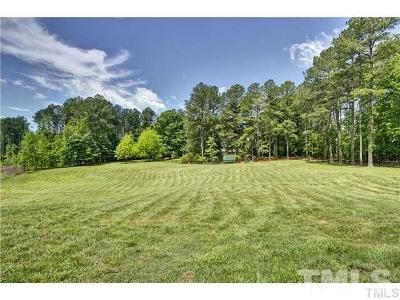Apex Residential Lots & Land For Sale: 7800 Secluded Acres Road