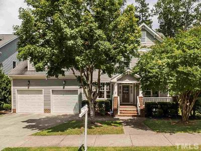 Cary Single Family Home Contingent: 208 Brookbank Hill Place