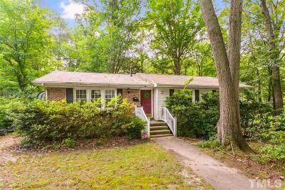 Cary Single Family Home Contingent: 931 Hillview Drive
