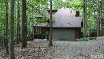 Chatham County Rental For Rent: 1825 Redbud Road