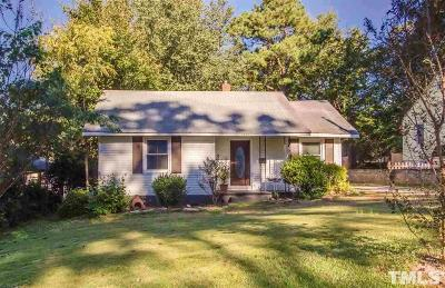 Wake County Single Family Home For Sale: 1817 Rankin Street