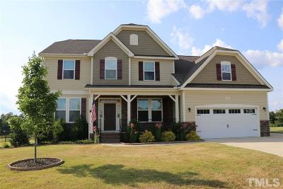 Angier Single Family Home For Sale: 196 Brookstone Way