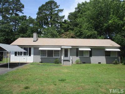 Garner Single Family Home Pending: 106 St Marys Street