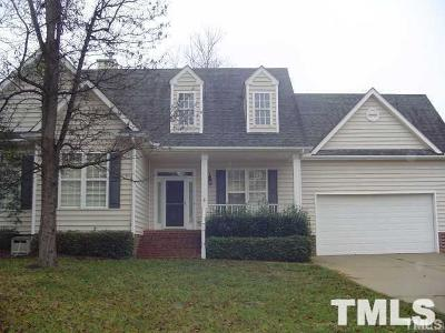 Holly Springs Rental For Rent: 100 Crossfire Road