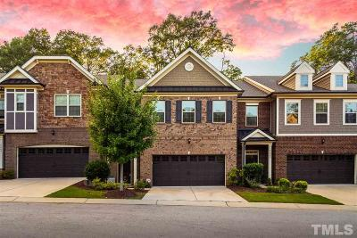 Raleigh Townhouse For Sale: 3805 Essex Garden Lane