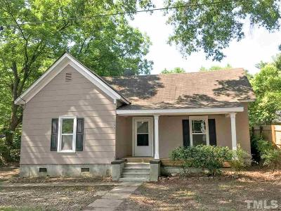 Durham Single Family Home For Sale: 1604 E Main Street