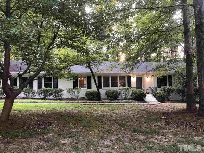 Durham Single Family Home Pending: 4415 Sunny Court