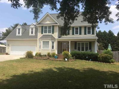 Angier Single Family Home Contingent: 239 Ashton Lane