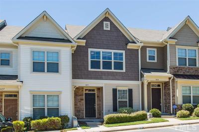 Raleigh Townhouse Contingent: 6431 Swatner Drive