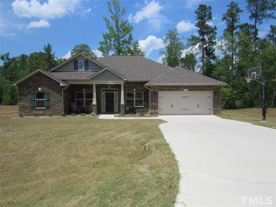 Lillington Single Family Home For Sale: 10 Woodwater Circle