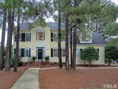 Apex Single Family Home Pending: 1700 Green Hickory Court