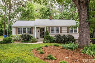Raleigh Single Family Home For Sale: 527 Banks Street