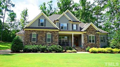 Wake Forest Single Family Home Contingent: 1621 Wildhurst Lane