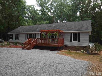 Granville County Single Family Home Pending: 3072 Farm Road
