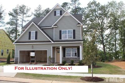Wake Forest Single Family Home Pending: 324 Everly Mist Way