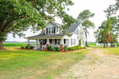 Sampson County Single Family Home Pending: 6471 Mount Olive Highway